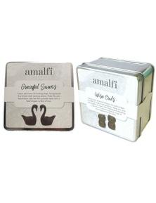 Amalfi Graceful Swans & Wise Owls 4Pc