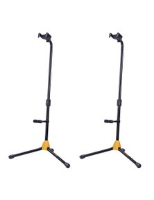 Hercules Single Guitar Stand Upgraded AGS Auto Grab w/ Rest MC6 2PK