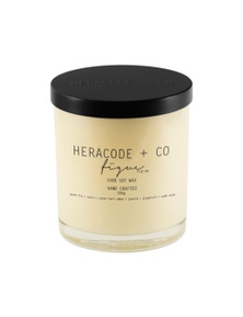 Heracode + Co X-Large Soy Wax Candle - Figue