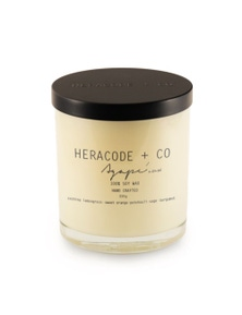 Heracode + Co Large Soy Wax Candle - Agape