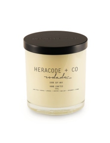 Heracode + Co Large Soy Wax Candle - Rosado