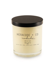 Heracode + Co X-Large Soy Wax Candle - Rosado