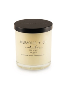 Heracode + Co Large Soy Wax Candle - Exhale