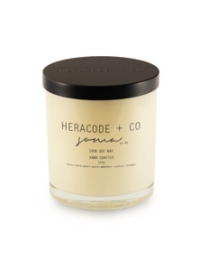 Heracode + Co Large Soy Wax Candle - Soma