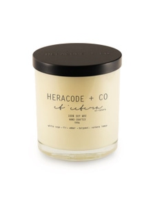 Heracode + Co X-Large Soy Wax Candle - Etcetera