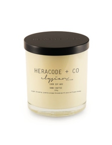 Heracode + Co Large Soy Wax Candle - Elysian