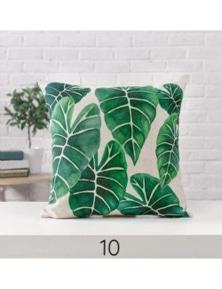 Tropical Plant Cushion Covers Coastal Home Decor- 10