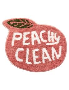 Fruit Puns Bath Mat- Peach
