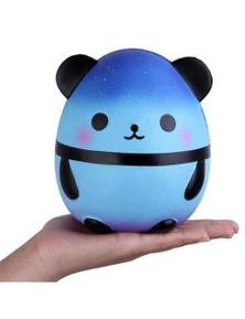 Cute Kawaii Blue Panda Squishy Slow Rising Stress Decompression Toy- Blue