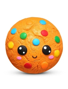 Stress Relief Squeeze Toys Kids- Rainbow Cookie (Approx. 11cm)