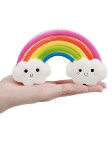 Kawaii Rainbow With Clouds Squishy Slow Rising Toy- Rainbow