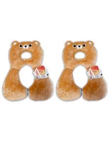 Benbat Total Support Headrest Bear 2PK
