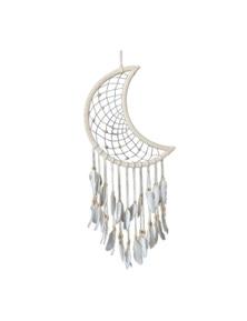 Moon Shape Dream Catcher