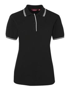 JB's Wear Ladies Contrast Polo