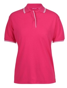 JB's Wear Ladies Contrast Polo