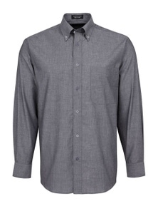 JB's Wear JB's Long Sleeve Fine Chambray Shirt