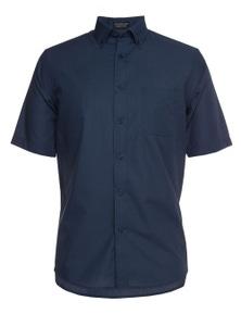 JB's Wear JB's Short Sleeve Fine Chambray Shirt