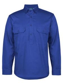 JB's Wear C Of C Longreach Long Sleeve Closefront Shirt