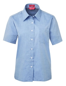 JB's Wear JB's Ladies Original Short Sleeve Fine Chambray Shirt
