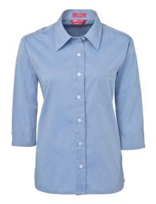 JB's Wear JB's Ladies Original 3/4 Fine Chambray Shirt