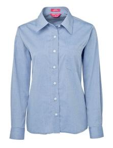 JB's Wear JB's Ladies Original Long Sleeve Fine Chambray Shirt