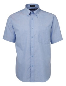 JB's Wear Short Sleeve Oxford Shirt