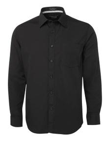 JB's Wear Long Sleeve Contrast Placket Shirt