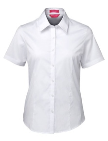 JB's Wear Ladies Urban Short Sleeve Poplin Shirt