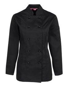 JB's Wear Ladies Long Sleeve Chef's Jacket