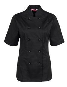 JB's Wear Ladies Short Sleeve Chef's Jacket