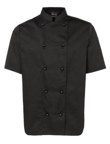 JB's Wear Short Sleeve Unisex Chefs Jacket