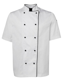 JB's Wear Short Sleeve Unisex Chefs Jacket