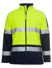JB's Wear Hi Vis (D+N) Softshell Jacket