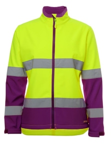 JB's Wear Ladies Hi Vis D+N Water Resistant Soft