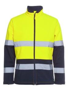 JB's Wear Hi Vis D+N Water Resistant Softshell Jacket