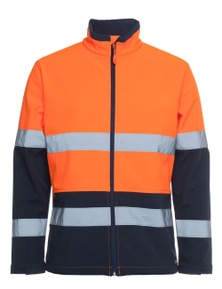 JB's Wear Hi Vis D+N Water Resistant Softshell Jacket