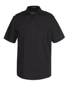 JB's Wear Epaulette Shirt Short Sleeve