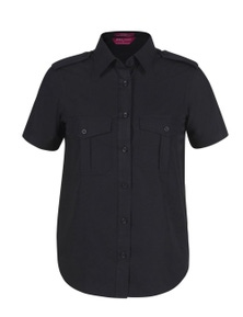 JB's Wear Ladies Epaulette Shirt Short Sleeve