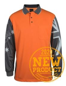 JB's Wear Long Sleeve Southern Cross Polo