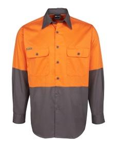 JB's Wear Hi Vis Long Sleeve 150G Shirt