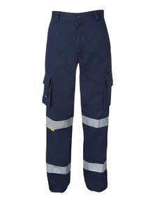 JB's Wear Mercerised Multi Pocket Pant with Reflective Tape