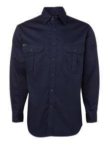 JB's Wear Long Sleeve 190G Work Shirt