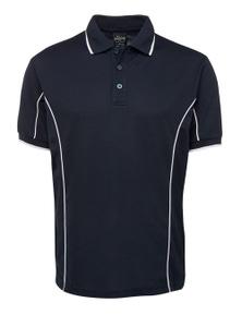 JB's Wear Short Sleeve Piping Polo