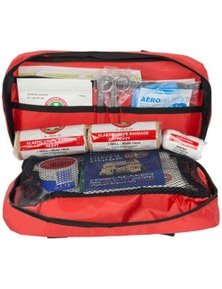 Emergency Essentials First Aid Kit Treatment Travel Compact Medical Survival