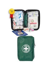 Essential First Aid Kit Travel/Travelling Safety Medical Injury Treatment
