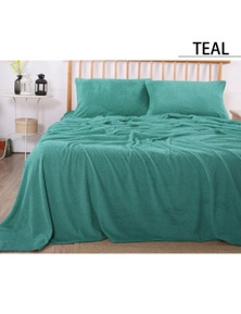 Ramesses Teddy Fleece Sheet Set