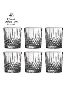 Royal Doulton Earlswood Crystalline Whiskey Tumbler 275Ml Set Of 6