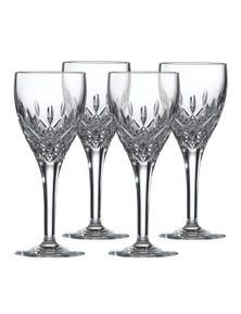 Royal Doulton Highclere Premium Crystal Wine Glass 220Ml   Set Of 4 Glasses