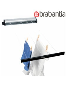 Brabantia Indoor Stainless 22M Retractable Pull Out Clothes Line Airer 09029
