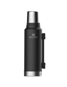 Stanley Classic 1.4L Vacuum Insulated Black Flask Thermos Bottle